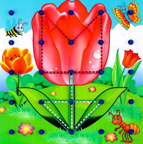 "Геоборд ""Цветы"" — фото, картинка"