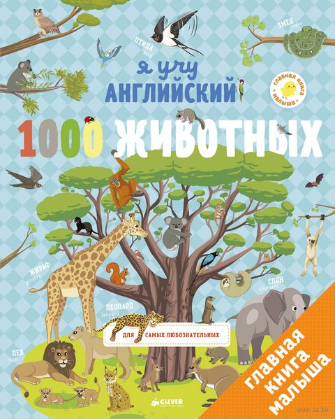 Я учу английский. 1000 животных — фото, картинка