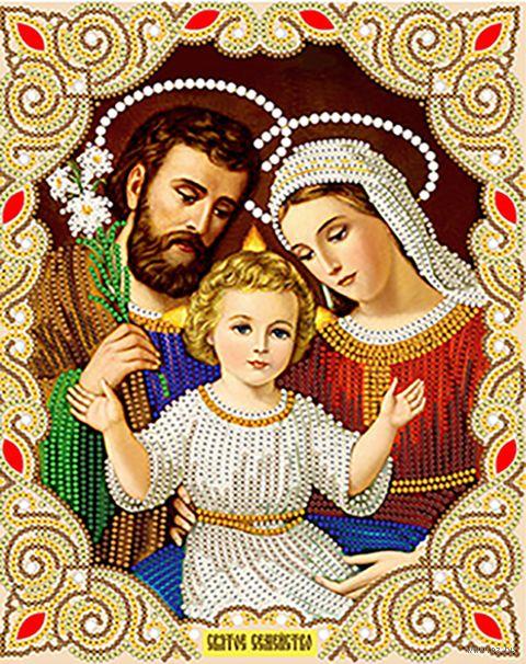 "Вышивка бисером ""Святое семейство"" (250х200 мм) — фото, картинка"