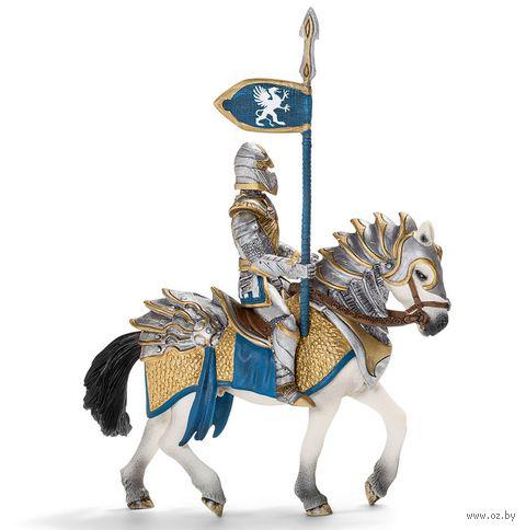 """Фигурка """"Рыцарь Грифона с копьем на коне"""" (14 см)"""