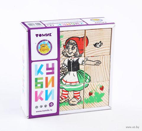 """Кубики """"Герои сказок"""" (9 шт)"""
