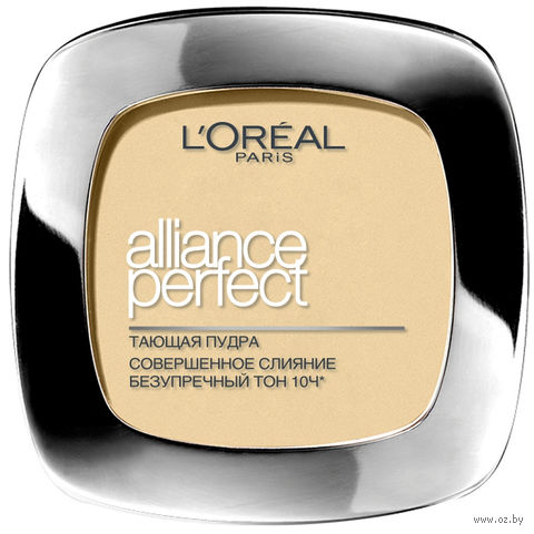 "Компактная пудра для лица ""Alliance Perfect"" (тон: N2, ванильный) — фото, картинка"