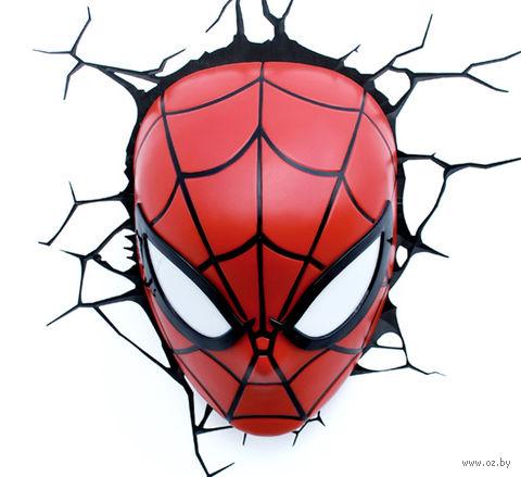 """Декоративный светильник """"Человек-паук. Маска"""" — фото, картинка"""