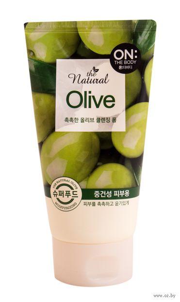 """Пенка для умывания """"Natural Olive"""" (120 мл) — фото, картинка"""