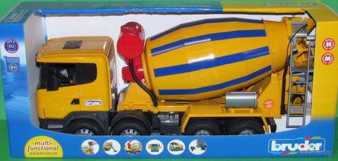 "Модель машины ""Бетономешалка Scania"" (масштаб: 1/16)"