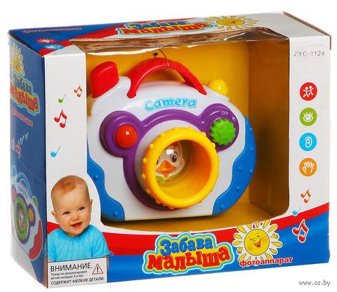 "Музыкальная игрушка ""Фотоаппарат - Забава малыша"" (арт. ZYC-1124) — фото, картинка"