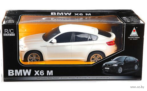 """Автомобиль на радиоуправлении """"BMW Х6"""" (масштаб: 1/14)"""