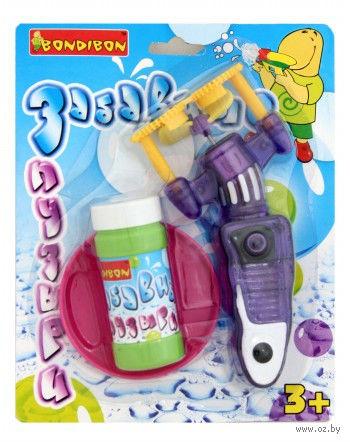 """Игрушка для выдувания мыльных пузырей """"Забавные пузыри"""" (арт. ВВ0466)"""