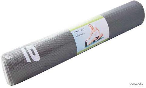 Коврик для йоги (серый; арт. AYM-01 grey) — фото, картинка