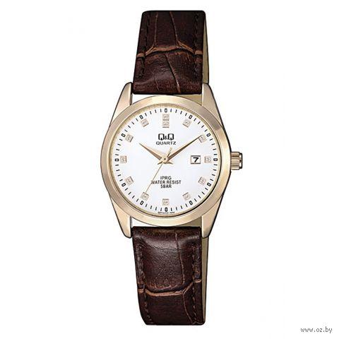 Часы наручные (коричневые; арт. QZ13J121) — фото, картинка