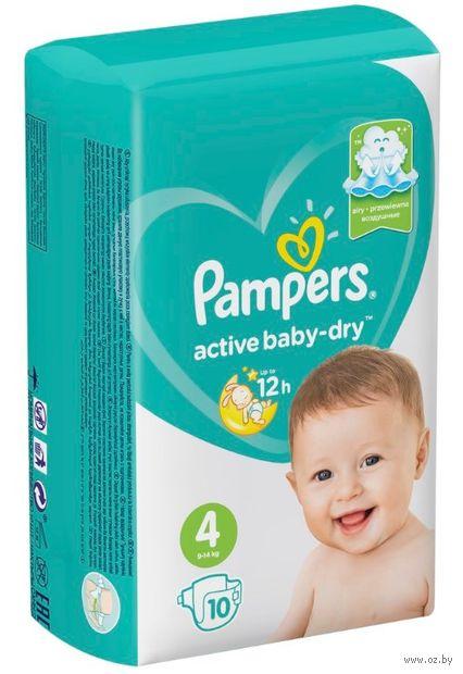 "Подгузники ""Active Baby-dry Maxi"" (9-14 кг; 10 шт.) — фото, картинка"