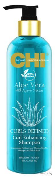 """Шампунь для волос """"Aloe Vera. Для вьющихся волос"""" (739 мл) — фото, картинка"""