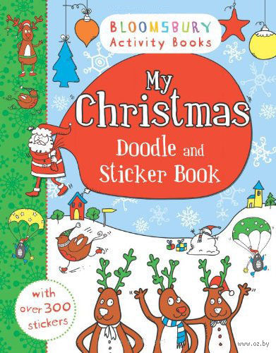 My Christmas. Doodle and Sticker Book