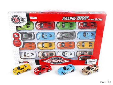 """Набор машинок """"Racing"""" (16 шт.) — фото, картинка"""