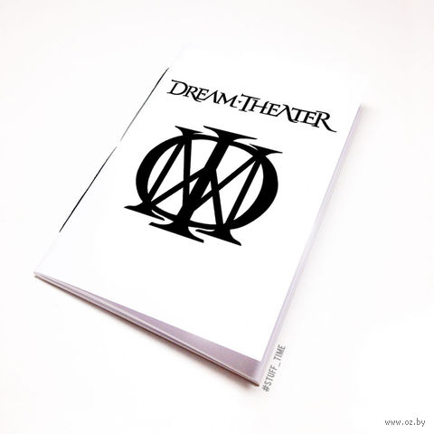 """Блокнот """"Dream Theater"""" (А5; арт. 064) — фото, картинка"""