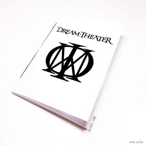 "Блокнот белый ""Dream Theater"" А5 (064)"