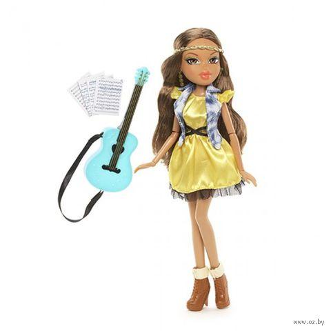 """Кукла """"Bratz. Мои увлечения. Автор песен Ясмин"""""""