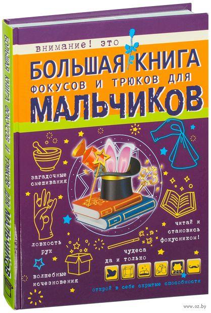 Большая книга фокусов и трюков для мальчиков — фото, картинка