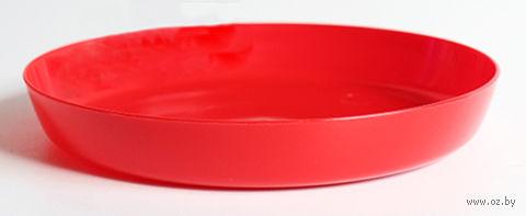 """Подставка для цветочного горшка """"Ага"""" (14,5 см; красная) — фото, картинка"""