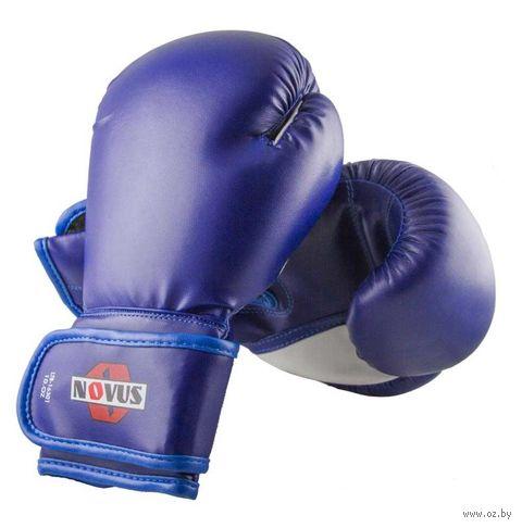 Перчатки боксёрские LTB-16301 (L/XL; синие; 10 унций) — фото, картинка