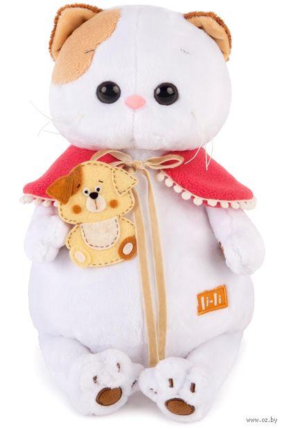 "Мягкая игрушка ""Кошечка Ли-Ли с собачкой"" (24 см) — фото, картинка"