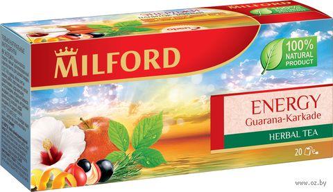"""Фиточай """"Milford. Energy"""" (20 пакетиков) — фото, картинка"""