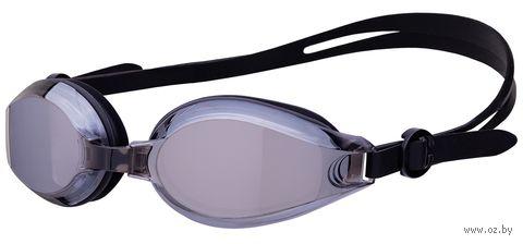 """Очки для плавания """"Ocean Mirror"""" (чёрные) — фото, картинка"""