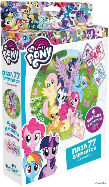 """Пазл """"My Little Pony. Выходной"""" (77 элементов) — фото, картинка"""