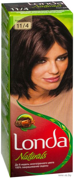 """Крем-краска для волос """"Londacolor. Naturals"""" (тон: 11/4, кора дуба)"""
