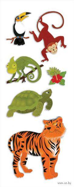 """Стикеры для скрапбукинга """"Джоли. Животные джунглей"""" (арт. EKS-SPJJ204)"""