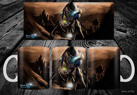 "Кружка ""StarCraft"" (арт. 18) — фото, картинка"