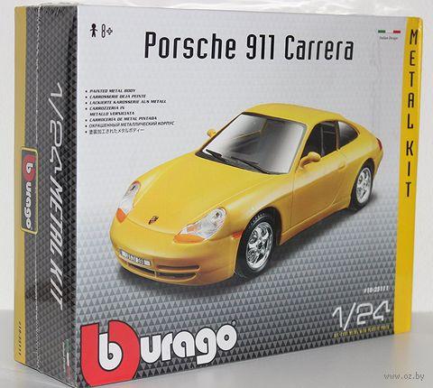 """Модель машины """"Bburago.  Porsche 911 Carrera"""" (масштаб: 1/24; арт. 18-25111) — фото, картинка"""