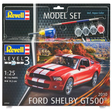 "Сборная модель ""Автомобиль Ford Shelby GT 500 2010"" (масштаб: 1/25) — фото, картинка"