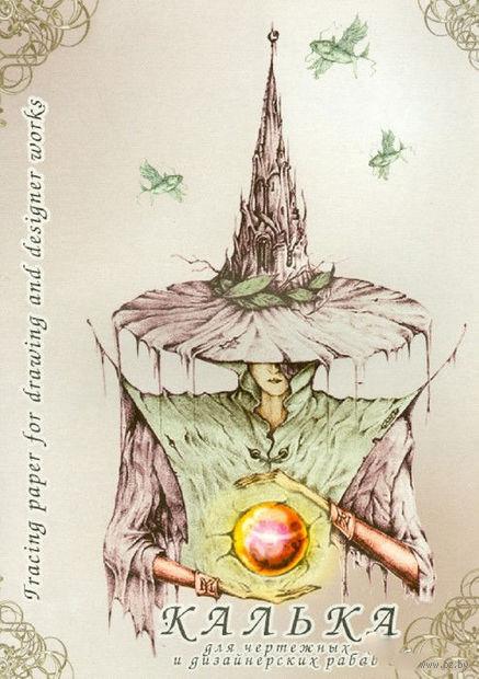 Калька для чертежных и дизайнерских работ в папке (40 листов, А3)
