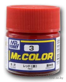 Краска Mr. Color (red, C3)