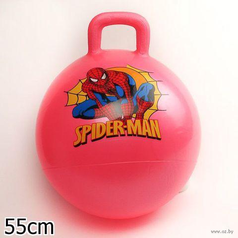 """Мяч """"Человек-паук"""" (с ручкой; 55 см)"""