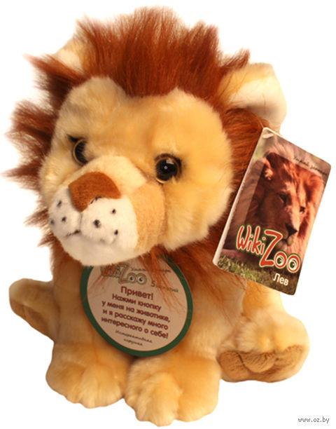 "Мягкая интерактивная игрушка ""Wiki Zoo. Лев"""