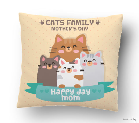 "Подушка маленькая ""Mother's day"" (art.24)"