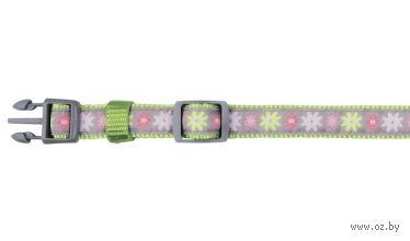 """Ошейник """"Modern Art. Collar Blooms"""" (15-21 см; зеленый) — фото, картинка"""