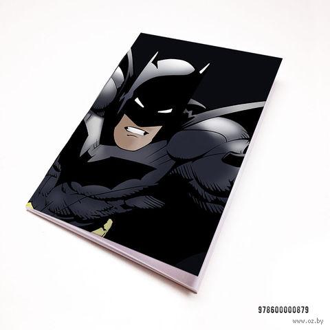 """Блокнот белый """"Бэтмен"""" А7 (арт. 879)"""