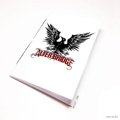 """Блокнот """"Alter Bridge"""" (А5; арт. 076) — фото, картинка"""
