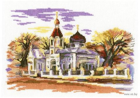 """Вышивка крестом """"Церковь Св. Марии Магдалины"""""""