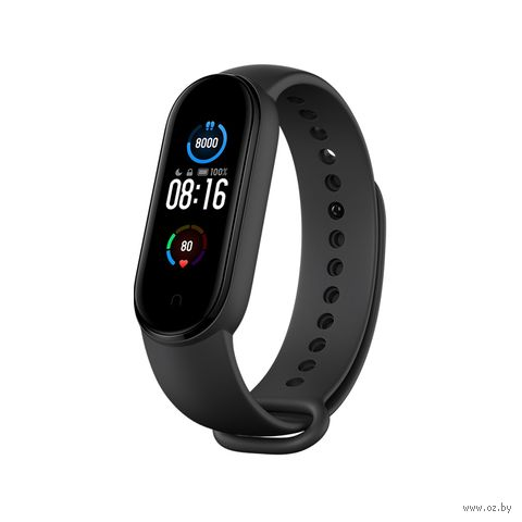 Фитнес-браслет Xiaomi Mi Smart Band 5 (XMSH10HM / BHR4219RU) (международная версия) (черный) — фото, картинка