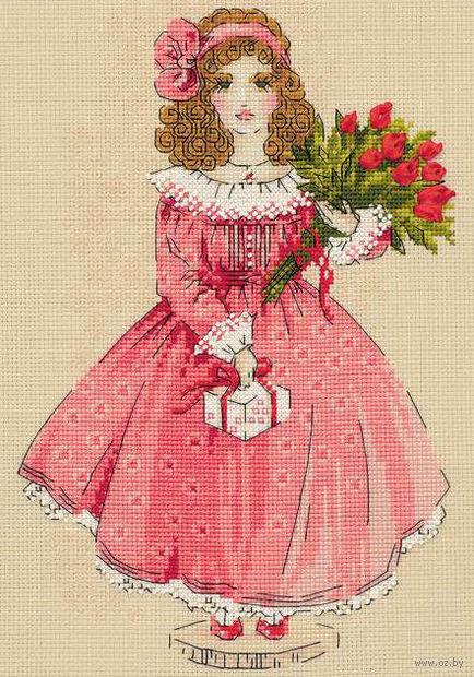 "Вышивка крестом ""Кукла Софи"" (арт. 1313)"