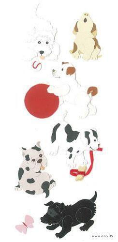 """Стикеры для скрапбукинга """"Джоли. Собаки"""" (арт. EKS-SPJJ209)"""