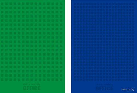 """Блокнот """"Green and Blue"""""""