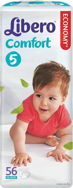 """Подгузники для детей """"Libero Comfort 5"""" (10-16 кг; 56 шт)"""