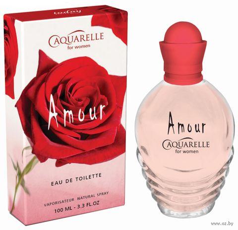 """Туалетная вода для женщин """"Aquarelle Amour"""" (100 мл) — фото, картинка"""