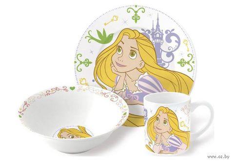 """Набор для завтрака """"Rapunzel Princess"""" (3 предмета) — фото, картинка"""