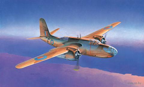"""Бомбардировщик """"A-20B/BOSTON III"""" (масштаб: 1/48) — фото, картинка"""